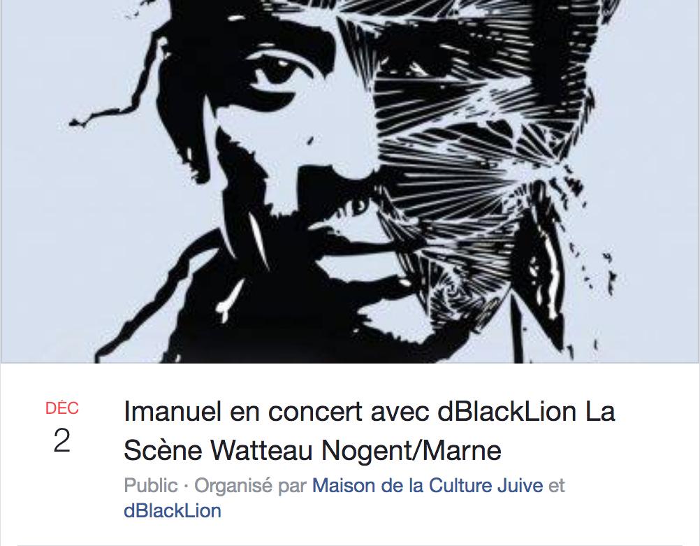 Concert dBlackLion Imanuel